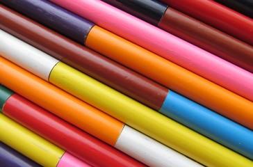 trozos de colores