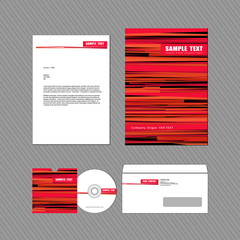 Business identity template