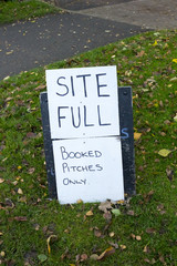 Site Full Notice