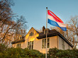 House with Dutch Flag