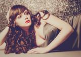 Fototapety haircolors 25 / vintage Diva