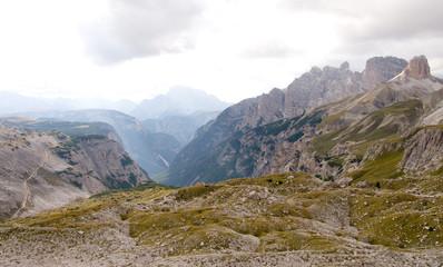 Dreischusterspitze und Haunoldgruppe - Dolomiten - Alpen