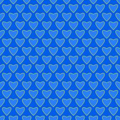 Muster Herz blau endlos  #140207-svg08