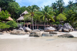Tropical resort on Ko Tao, Thailand