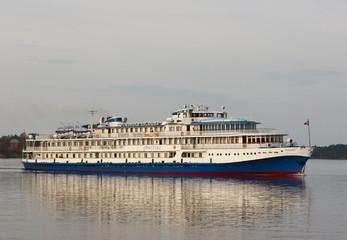Steamship at volga