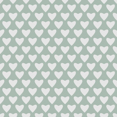 Muster Herz grün-grau  #140207-svg10
