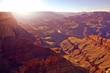 Beautiful sunset over the Grand Canyon, Arizona, USA