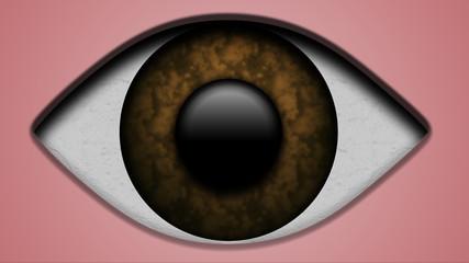 Occhio marrone