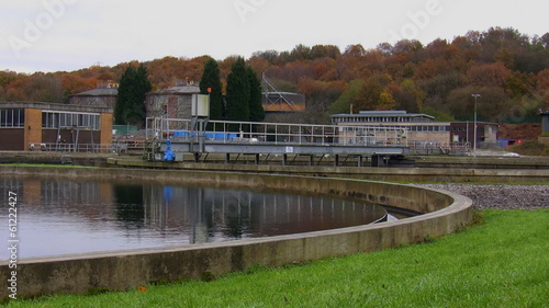 Waste water treatment plant / works reservoir