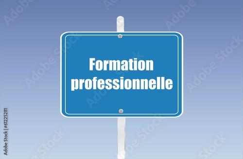 panneau formation professionnelle