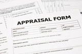appraisal form and paperwork poster