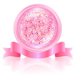 桜 フレーム メダル