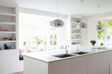 Kitchen In Modern Home