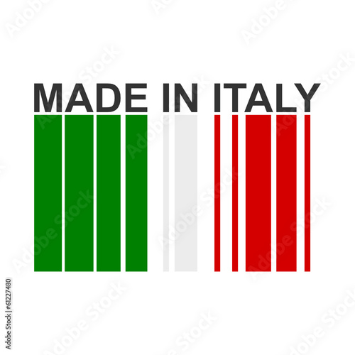 Made in Italy  - barcode