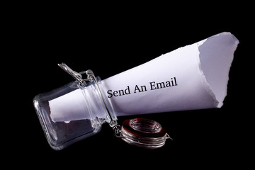 Send email note