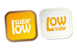 Low sugar stickers