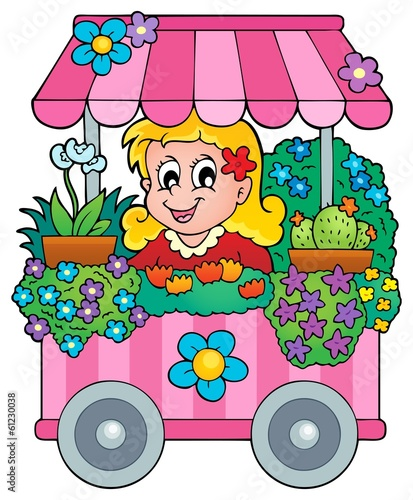 Flower shop theme image 1