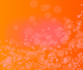 abstract orange background with particles .orange backgraound.