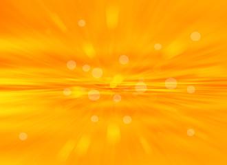 Orange bokeh abstract light background.blur background.