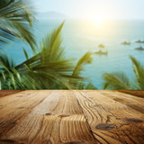 wood textured backgrounds on the Goa  landscape