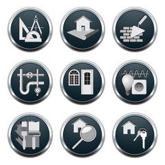 Construction & architecture icons