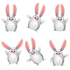 White egg bunny
