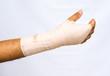 Bandage.Medical concept