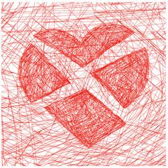 cuore diviso