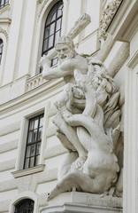Statue of Hercules fighting Hydra