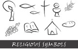 Fototapety Religious symbols