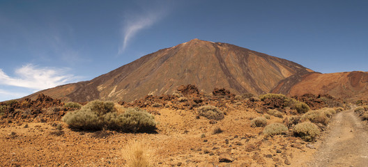 Panoramic View of Mount Teide