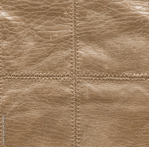 brown  leather texture, stitch