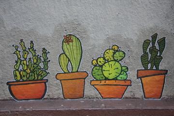Cactus Graffiti