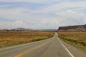 route vers chelly , Arizona