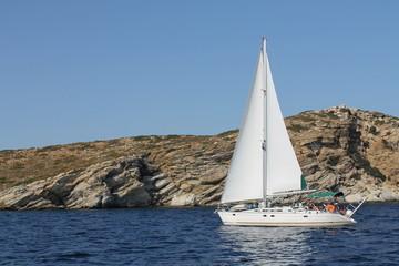 Griechenland Saronischer Golf Segeln