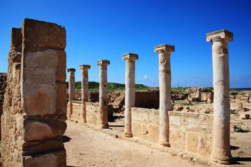 Roman Columns, Paphos Cyprus