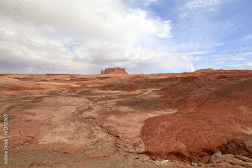 collines rouges d'Arizona