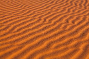 Sand dunes in Western Sahara Desert, Morocco