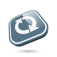 recycling update symbol zeichen modern
