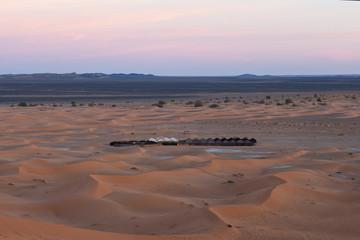 Sand dunes in Erg Chebbi, Western Sahara Desert, Morocco