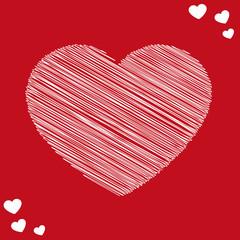 cuore scarabocchio