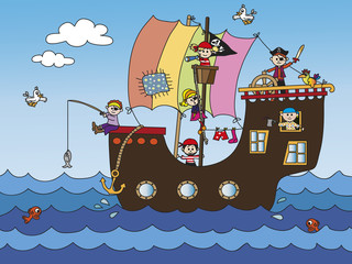 pirate ship © casaltamoiola