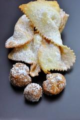 Frappe e castagnole di carnevale