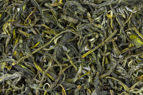 Background of Chinese green tea