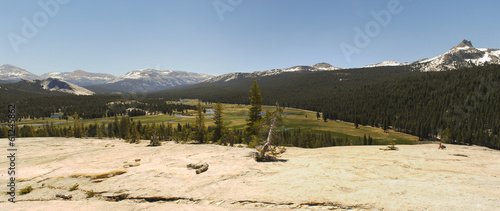 Yosemite National Park - Tuolumne Meadows Panorama