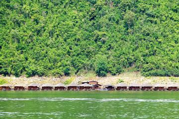 Bungalow waterfront Kanchanaburi, Thailand