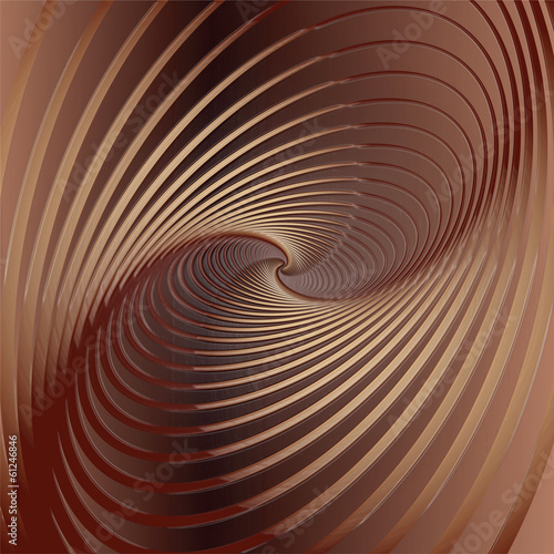 Abstract chocolate background.  Illustration.