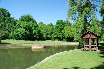 L'étang du parc Roi Baudoin à Jette