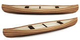 3d native indian canoe