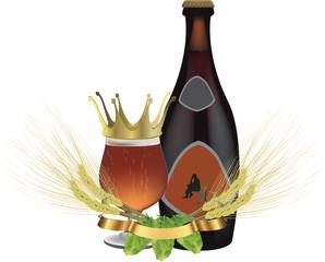 logo birra premium